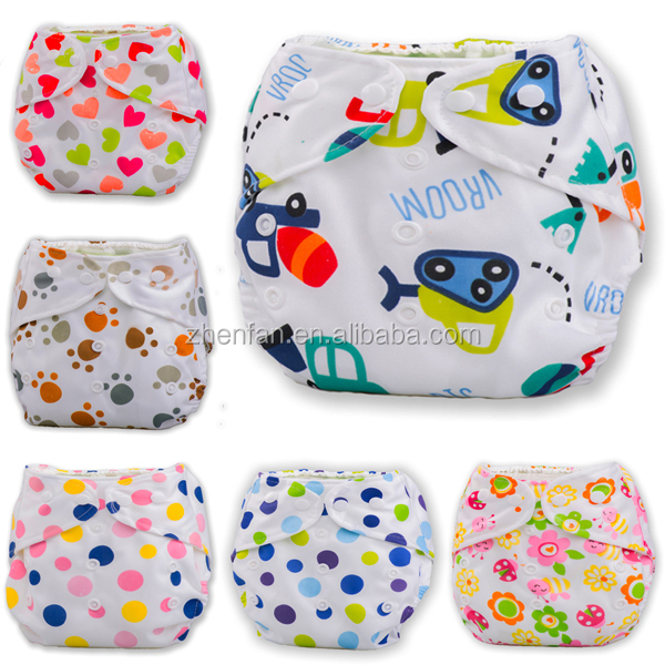 children cloth diaper full printed baby training pants pure cotton baby cloth diaper