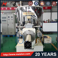 Meizlon high quality plastic raw material industrial stirrer large capacity concrete mixer machine