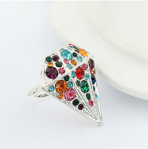 845 punk Canada gemmounting fashion diamond wholesale rock style ring