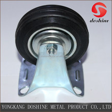 Factory supply 4 inch fixed industrial caster wheel