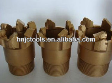 PDC core drill bit for water well drilling,blast hole
