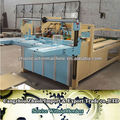 China good price corugated carton semi automatic box gluing machine