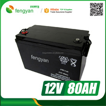 Free maintenance deep cycle lead acid gel agm 12v 40ah exide ups battery