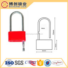 Top quality plastic padlock seal manufacturer BC-L203 mechanical seal