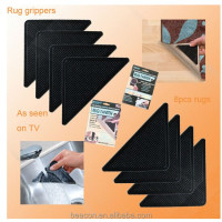 New 2014 rug gripper anti-slip underlay stick carpet Ruggies as seen as on tv/Rug Ruggies/hot ruggies reusable rug gripper