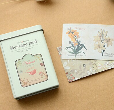 Eco-Friendly Food Grade Rectangle Business Card Tin Box