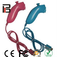 Pink nunchuk for wii blue nunchuk wii accessories