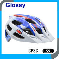 in-mold adult CE CPSC mountain bicycle safety helmets, bike security helmets, MTB cycling helmets