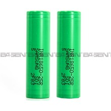 2016 Samsung sdi 18650 2500mah battery Samsung 35A INR18650-25r Samsung 25r5 25r6 18650 rechargeable battery