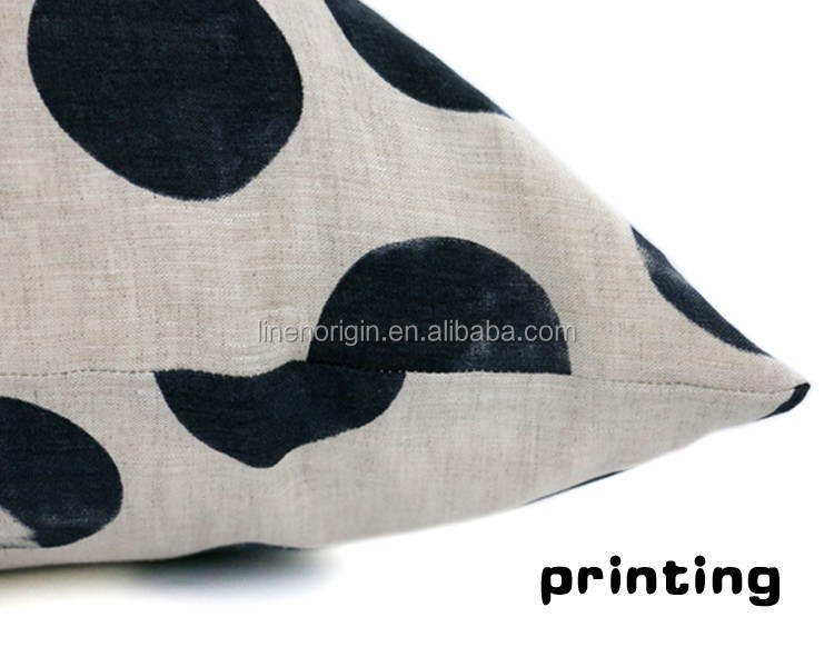 printed linen fabric for sushion