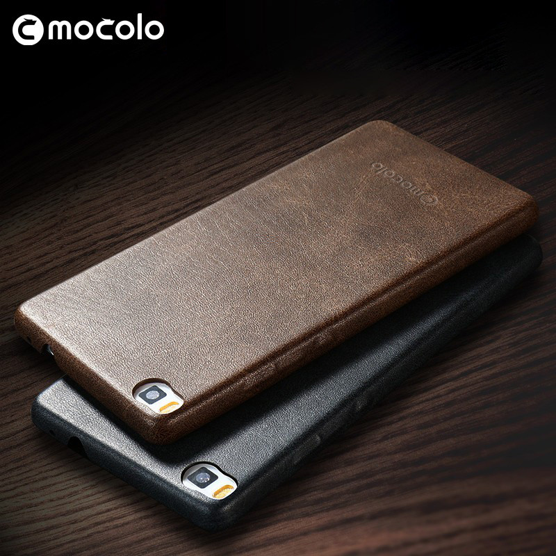 Wholesale Luxurious Leather Back Cover Phone Case For Huawei Ascend P8 Mini Smartphone Case
