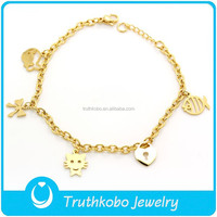 F B0020 Wholesale Gold Bracelet Woman
