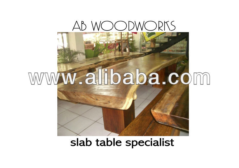 solid slab table