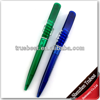Factory plastic ballpoint pen for promotion