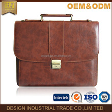 Promotion leather cardboard briefcase factory