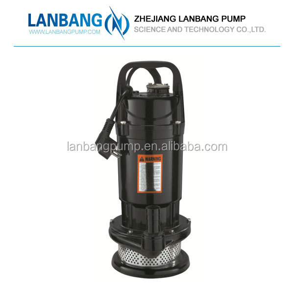Manufacturer Wholesale Standard Submersible Centrifugal Single Stage QDX 3T Electric Sewage Pump