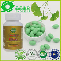 Hot Selling Best Quality Health Care Supplemet Ginkgo Biloba Softgel 500mg For Anti-fatigue