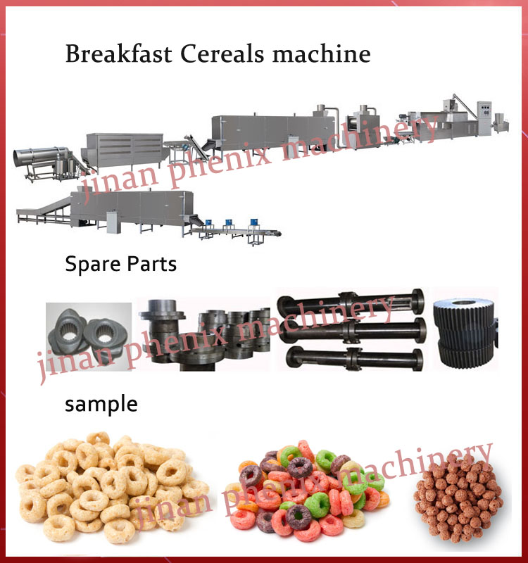 crispy fruit loops nutrition breakfast cereal making machine