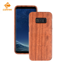Wooden Bamboo Phone Case For Galaxy S8 Case S8 Plus Walnutwood Cover Rosewood Handmade Back Shell Cornmi