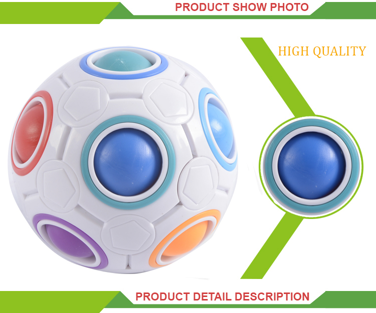 Cheap fidget set toys finger set magic rainbow ball