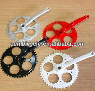 Single Speed Chainwheel and Crank for Fixed Gear Bike