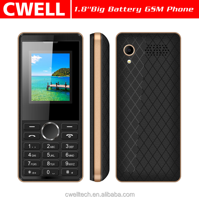 New Product Econ A13 Quad Band 1.8 inch Dual SIM card 1800mah Big Battery GSM Mobile Phone