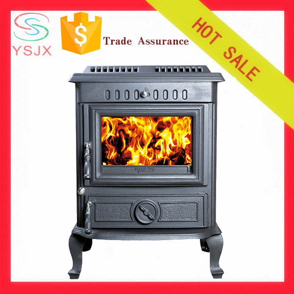 Cast iron indoor freestanding type fireplace price