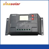 10A 12V/24V Solar Charge Controller/Regulator With USB Power And LCD Display