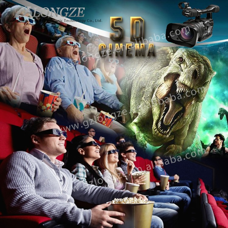 Amazing 5D movies hot sale 5d cinema 5d theater with ce