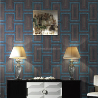 Unique modern 3d embossed korean wallpaper for home decoration