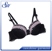 hot selling latest design wholesale lady sexy breast full up bra
