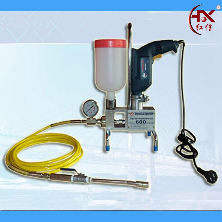 12000Psi HX-600 Portable Electric Grout Pump Automatic Bottle Filling Machine