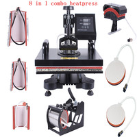 8 in 1 Combo Heat Press Machine for Sublimation