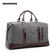 Cheap Vintage Weekender Overnight Bag Water Resistant Weekend Mens Sport Canvas Duffle Bags Active Leisure Canvas Travel Bag