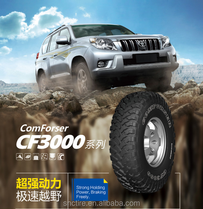 comforser SUV mud tires cf3000 with high quality and competitive price