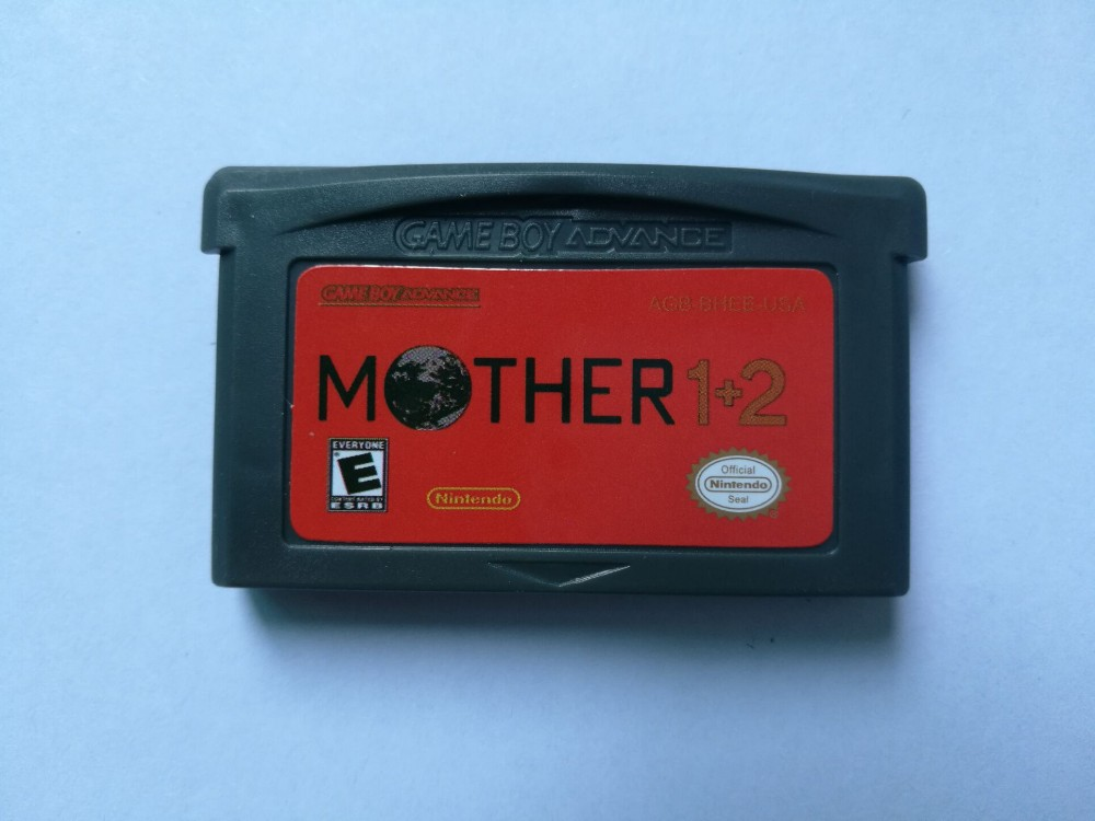 USA Version Lables For GBA Game Mother 1+2 Mother 3Video Game Cartridge