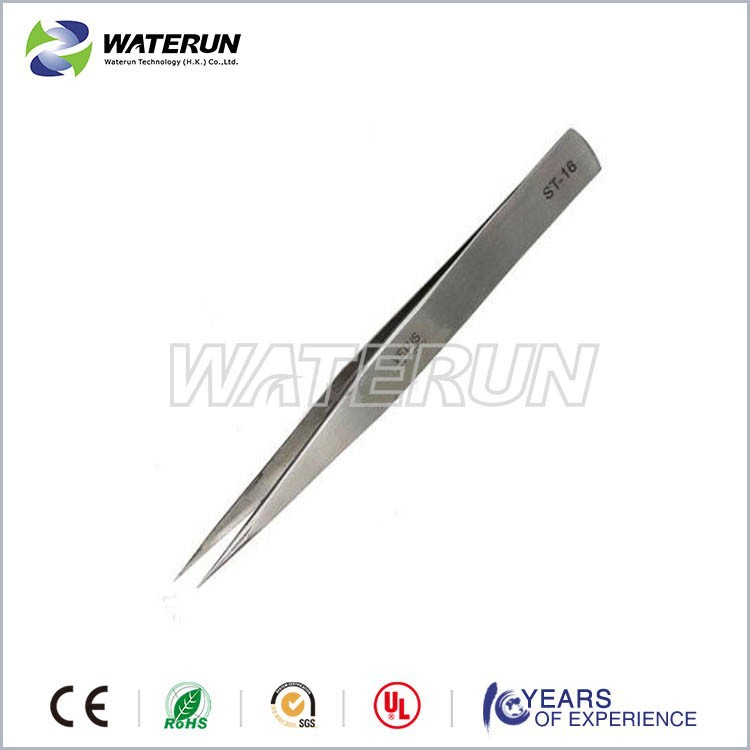 125mm Vetus ST-16 stainless steel point straight tweezers