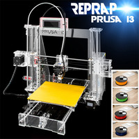 4KG filament +SDcard most popular!one set of Replicator Machine PLA/ABS Mini Pro 3D Printer in china
