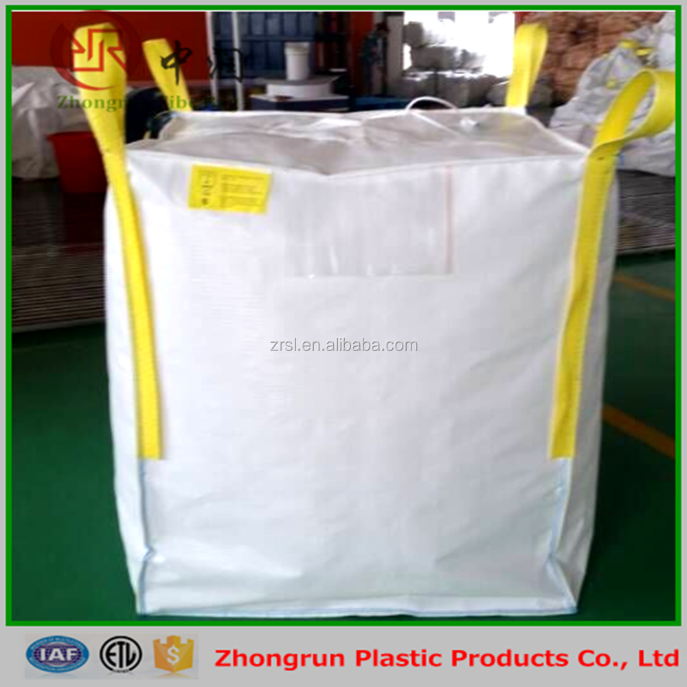 800kg pp big bag/pp jumbo bag/pp FIBC bag with top fill spout