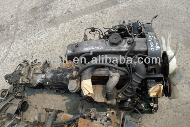 USED MITSUBISHI FUSO DIESEL ENGINE 4D56T