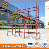Scaffold material cuplock standard with spigot