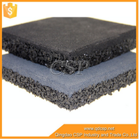 High quality safety soft rubber flooring for outdoor sports court,gym rubber floor mat