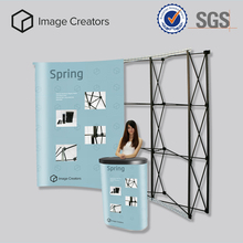 Custom special offer trade show booth