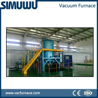 high temperature vacuum brazing furnace for SCR brazing- selective catalyst Reduction