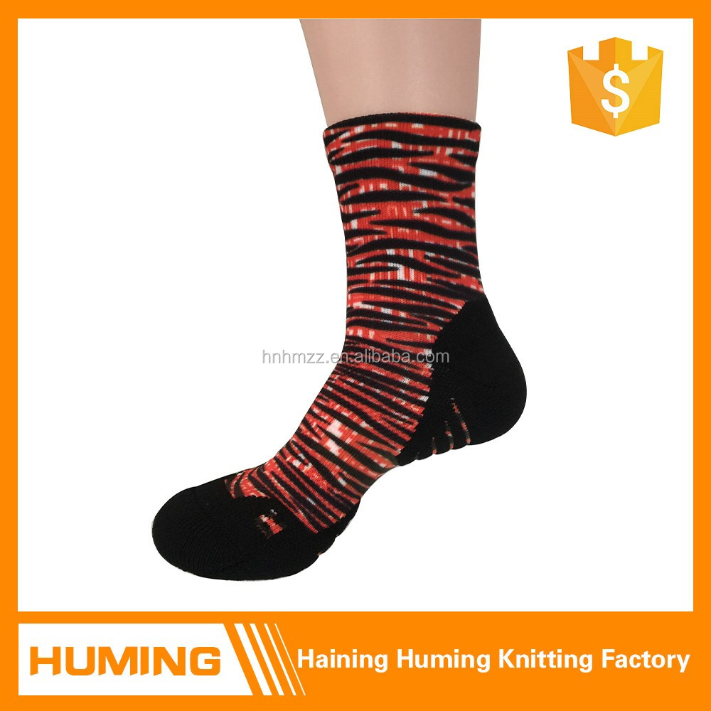 Crazy Quick Dry color print ankle socks for men