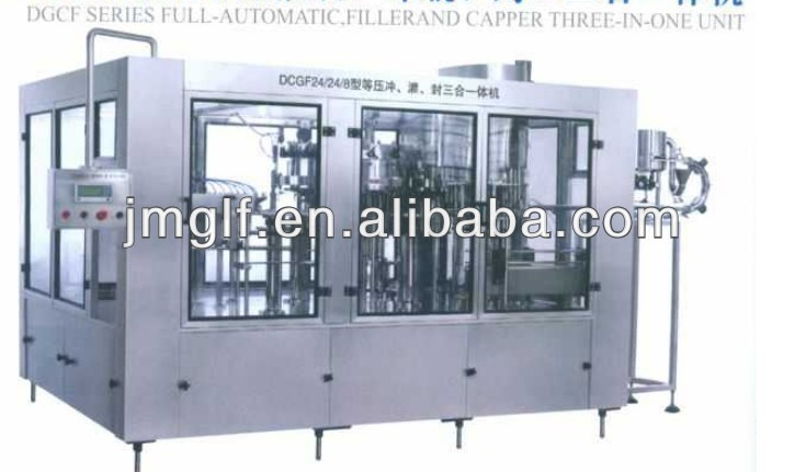 China Fully Automatic Alcohol Filling Machine For Beer/Wine/Vodka Making Filling Machine