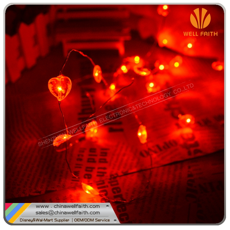 Decorative Mini Led Lights,Heart Shaped Led Decoration Light For Wedding