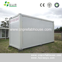 Convenient transportation sound insulation well designed expandable house