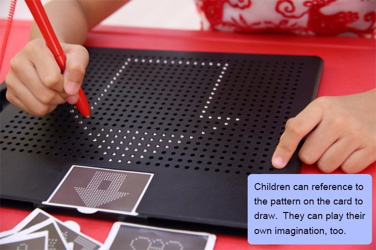 wholesale magnetic toys for kids;hot selling magnetic pad drawing and writing for children gifts