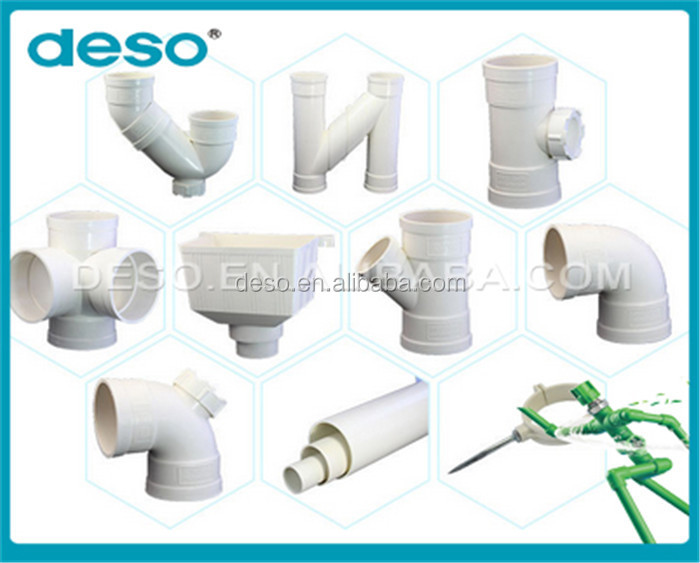 2016 Widely Used Factory Direct Sales pvc pipe water connection